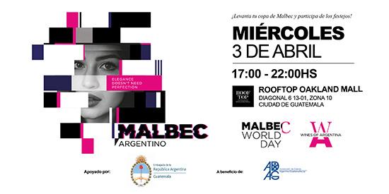 Día Mundial del Malbec en Guatemala 2019