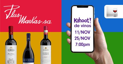 Kahoot de vinos